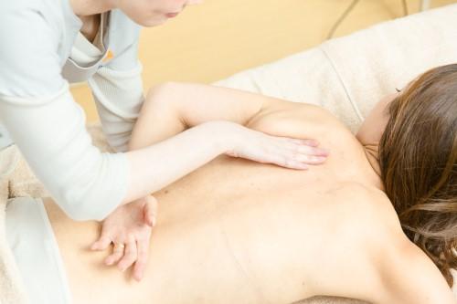 理学療法RESETトリートメント 肩甲骨周辺